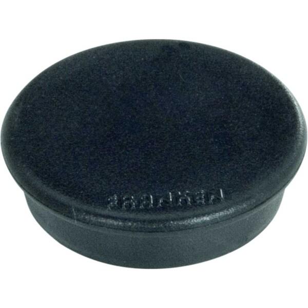 Franken Haftmagnet Ø 24mm schwarz Nr. HM20 10 PA 10Stk Haftkraft 300g