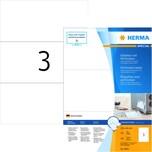 Herma SuperPrint-Etiketten Nr.4664 weiß PA 300St210x99mm perforiert bedruckbar