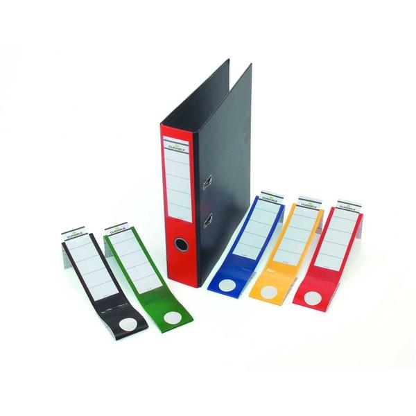 Durable Ordofix Rückenschild gelb Nr. 8090-04 breit/lang PA 10 Stück
