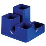 Arlac Stifteköcher Uni-Butler royalblau Nr. 234.24 4 Fächer 13x9x13mm eckig