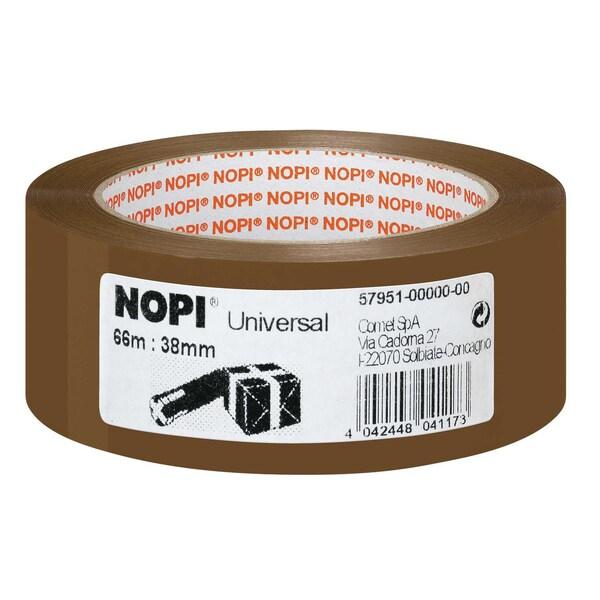 Nopi Packband 38mm x 66m braun Nr. 57951