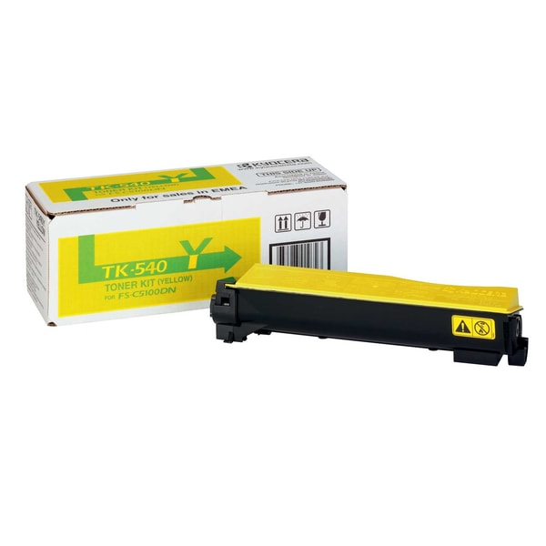 Kyocera Toner Kit TK540Y 1T02HLAEU0 gelb f. FSC5100DN 4.000S.