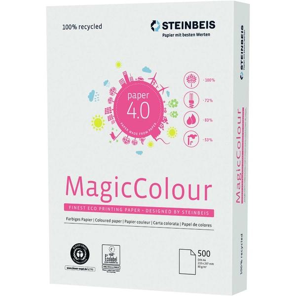 Steinbeis Kopierpapier MagicColour grün Nr. K2601555080A A4 80g PA 500 Blatt
