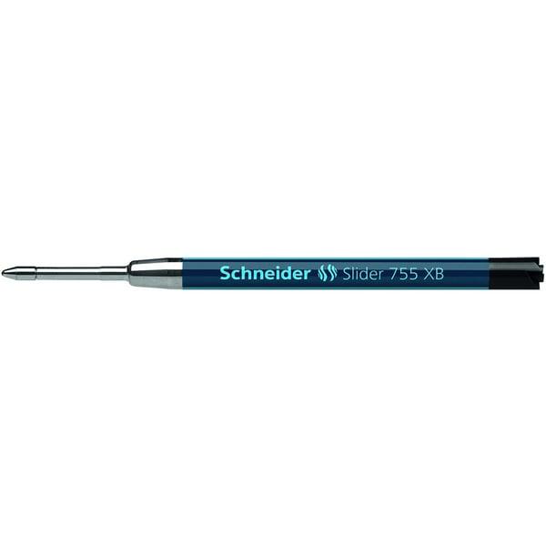 Schneider Kugelschreibermine Slider 755 Nr. 175501 XB schwarz G2-Großraum