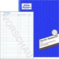 Avery Zweckform Postein/Ausgang-Buch Nr. 931 A4 50 Blatt
