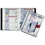 Durable Sichtbuch Duralook Plus A4 Nr. 2432-01 17mm 20 Hüllen PP schwarz