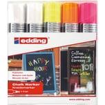 Edding 4090 Windowmarker 4-er Etui Strichstärke 4-15mm farblich sortiert