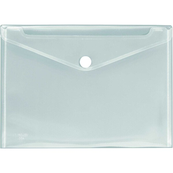 VELOFlex Dokumententasche Crystal A4 Nr. 4530100 transp. Streifenoptik02mm