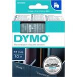 Dymo Schriftbandkassette S0720600 12mmx7m weiß auf transparent45020 D1