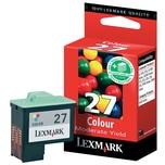 Lexmark Tintenpatrone 10NX227E farb Nr.27 f. X1110/X1130/X1150/X1170
