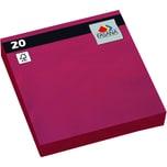 Fasana Serviette 3-lagig 33x33cm Nr. 221383 jalapeno red PA= 20Stk