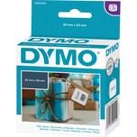 Dymo Vielzweck-Etikett S0929120 weiß PA 750 Etiketten/Rolle 25x25mm