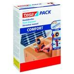 Tesa Packbandabroller Comfort Nr. 06400-00001 bis 50mm x 66m rot/blau