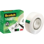 Scotch Klebeband Magic 810 19mm x 33m Nr. M8101933matt kopier & beschreibbar