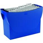 HAN Hängemappenbox Swing 1900 blau Nr. 1900-14 ohne Deckel für 20 Mappen