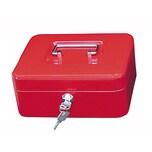 Wedo Geldkassette Größe 2 Clip rot Nr. 145202H. 20x9x16cm