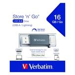 Verbatim Usb-Stick Otg Lightning Istore Nr. 49304 16Gb Usb 3.1