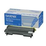 Brother Toner TN2000 schwarz Kapazität ca. 2.500 Seiten