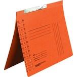 Falken Pendelhefter A4 RC Karton orange Nr. 15033702 Behördenheft. Schlitzstanz