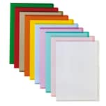 Bene Sichthülle A4 PVC farblich sortiert Nr. 205000SO 150my PA 100St