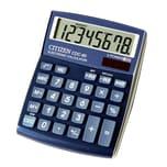 Citizen Tischrechner CDC-80BL 802347 8stellig Solar/Batterie bl