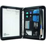 Wedo Konferenzmappe Elegance 585001 DIN A4 Kunstleder schwarz