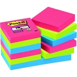 Post-it Haftnotiz Super Sticky 48x48mm Nr. 62212SJ Bora Bora PA12 Block