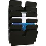Durable Prospekthalter FlexIPlus A4 Nr. 1700014061 quer 6 Fächer schwarz