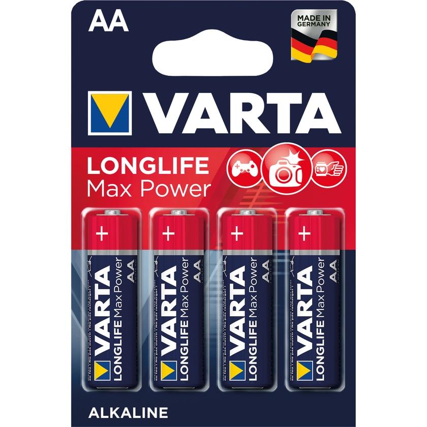Varta Batterie Max Tech Alkali-Mangan Aa Nr. 4706110404 15V Lr6 2.970Mah 4St
