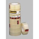 Scotch Klebeband 550 19mm x 33m Nr. 5501933. transparent. PA= 8 Rollen
