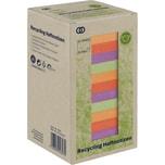 Soennecken Haftnotiz oeco 75x75mm Recycling farbig sortiert Nr. 5875. 16 Block à 100 Blatt