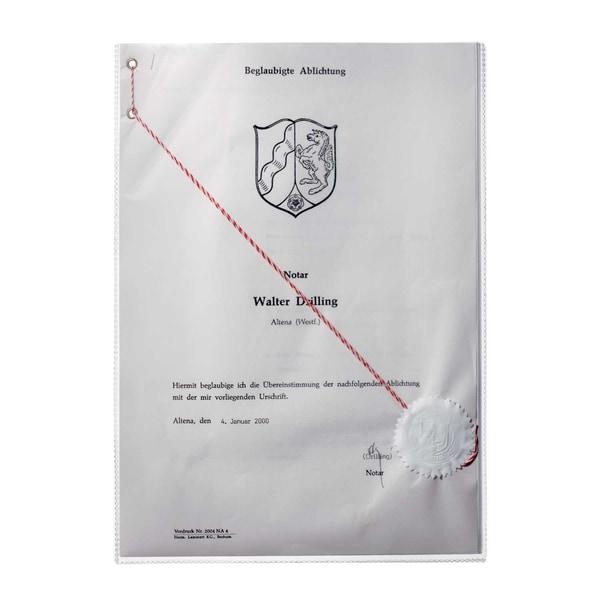 Durable Ausweishülle transparent A4 Nr. 2131-19 210 x 297mm
