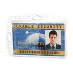Durable Hartbox für Betriebsausweis Nr. 8905-19. 85x54mm. PA= 10Stk