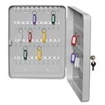 Alco Schlüsselkassette 891 20x16x8cm f. 30 Schlüssel lichtgr