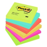 Post-it Haftnotiz Notes 76x76 Rainbow Nr. 654TFEN PA 6 Block à 100 Blatt