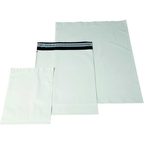 Docucare Versandtasche schwarz/weiß PA100Stk 230x325x40mm mit Fenster