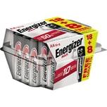 Energizer Batterie MAX AA Nr. E301644100. 1.5V. PA= 18+8Stk
