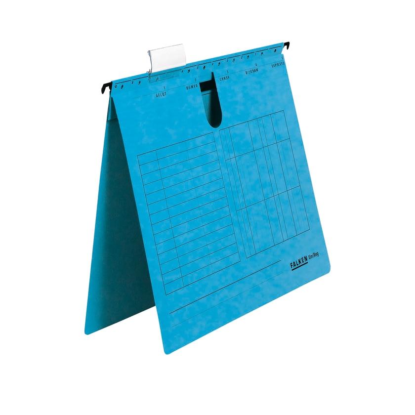 Falken Hängehefter Unireg A4 Blau Nr. 80002702 Kfm. Heftung