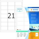 Herma Movables-Etikett Nr. 10301 weiß PA 2.100 Stk 635x381mm ablösbar