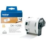 Brother Adress-Etikett Dk 11209 Weiß Pa= 800St 29Mm X 62Mm