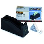 Scotch Tischabroller C10 schwarz Nr. C10 bis 25mm x 66m ungefüllt