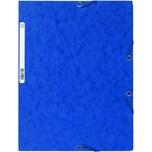 ExacomPTA Eckspanner Nature Future A4 Nr. 55502E 400g 3 Klappen blau