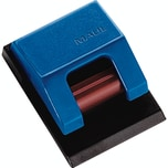 Maul Planhalter Rollenclip S 3.3x4.3cm sk blau Nr. 6241035. PA= 10Stk
