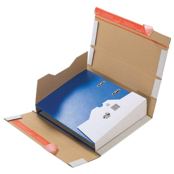ColomPac Ordnerversandbox 35-80mm Nr. CP055.51 32x29x8cm weiß