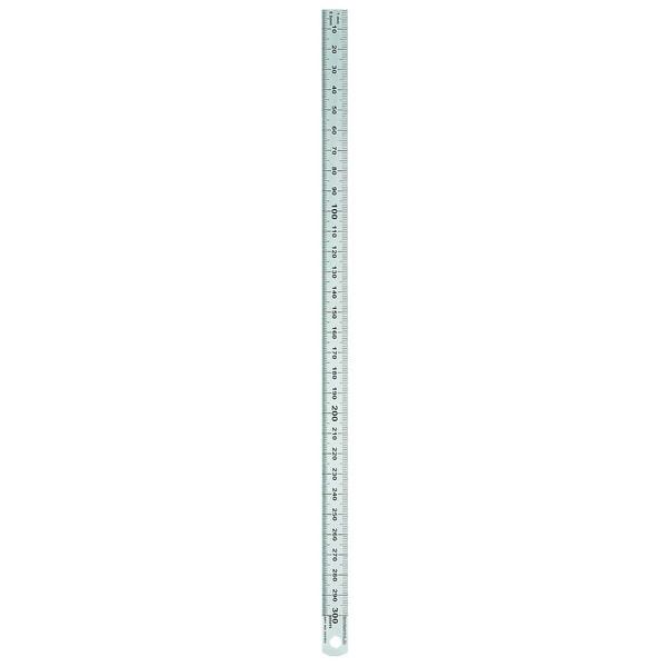 Rumold Stahllineal 15cm 1/2mm Teilung Nr. 323701 rostfreier Edelstahl