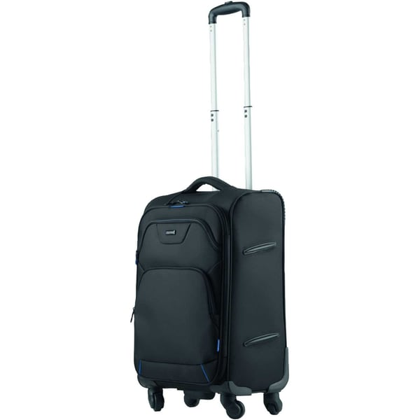 LightPAK Reisetrolley Lunar 46109 schwarz blau