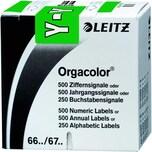 Leitz Buchstabensignal Orgacolor Y Rolle Nr. 6634-10 grün PA 250 Stk