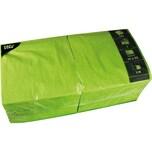 FASANA Serviette 3-lagig 33x33cm Nr. 81656. apfelgrün. PA= 250Stk