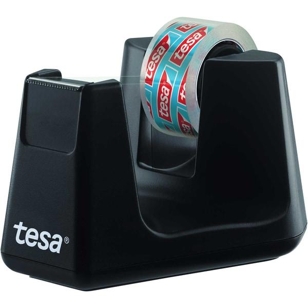 Tesa Tischabroller ecoLogo Smart schwarz Nr. 53903 bis 19mm x 33m +1 Rolle Tesa