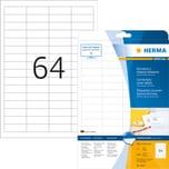 Herma Etikett Special Nr. 4226 weiß PA= 1.600Stk. 48.3x16.9mm